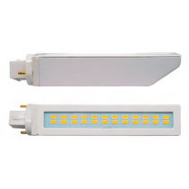 LÁMPARA PL LED G24-D3 2 PINS-10w-NEUTRA