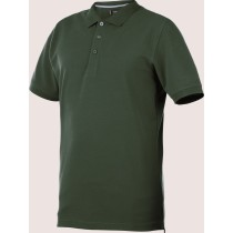 POLO JOB + MANGA CORTA COLOR VERDE T:XXL