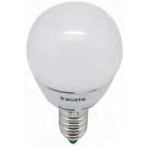 LAMPARA LED MINI-GLOBE E14 5W 2700K